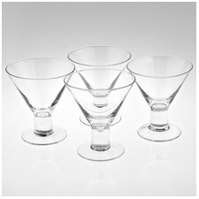 <strong>Badash Crystal</strong> Caprice Martini Glasses (Set of 4)