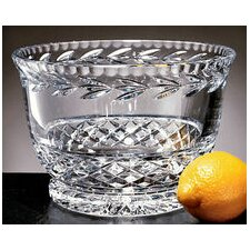 "<strong>Badash Crystal</strong> Garland 9.5"" Salad Bowl"