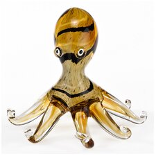 Art Glass Octopus Figurine