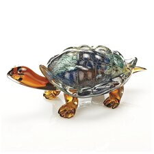 Art Glass Turtle Sculpture