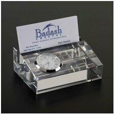 <strong>Badash Crystal</strong> Clock Card Holder