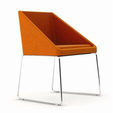 Dressy Eco Leather Arm Chair