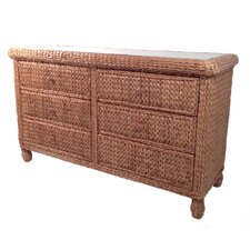 <strong>ElanaMar Designs</strong> Key West 6 Drawer Dresser