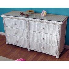 Elana 6 Drawer Dresser