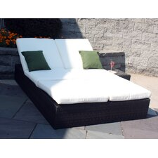 Captiva Double Chaise Lounge with Cushions
