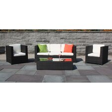 <strong>ElanaMar Designs</strong> Captiva 4 Piece Seating Group with Cushion