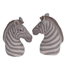 Zebra Book End (Set of 2)