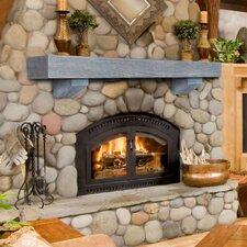 Heritage Mantel Shelf in Reclaimed Oak