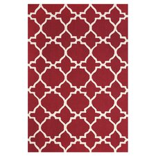 Cetara Red / White Rug