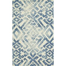 Lorrain Midnight Blue Area Rug