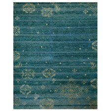 Qing Blue Area Rug