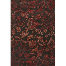 <strong>Feizy</strong> Mahsa Chocolate / Red Rug