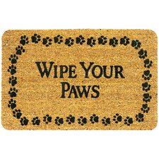 <strong>Creative Accents</strong> SuperScraper Wipe Your Paws Doormat