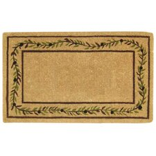 <strong>Creative Accents</strong> Olive Branch Border Doormat