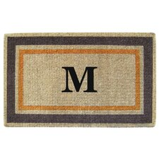 <strong>Creative Accents</strong> Picture Frame Personalized Monogrammed Doormat
