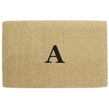<strong>Creative Accents</strong> No Border Personalized Monogrammed Doormat