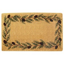 Evergreen Border Doormat