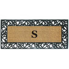 Acanthus Border Personalized Monogrammed Doormat