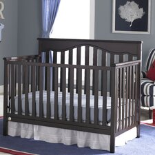 Ayden 4-in-1 Convertible Crib with Metal Bed Frame