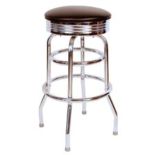 "Retro Home 30"" Swivel Bar Stool"
