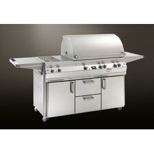Echelon E790s Cabinet Gas Grill with Double Side Burner