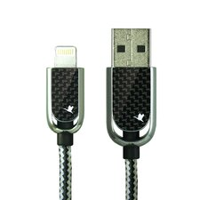 Cobra USB Cable with Carbon Fiber Lightning Connector