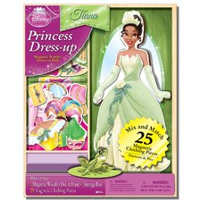 Disney Tiana Magnetic Wooden 25 Piece Doll Set