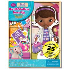 Doc McStuffins Magnetic Wooden 25 Piece Doll Set