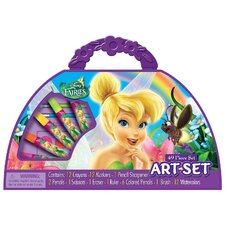 Disney Fairies Take-a-long Purse Art Set