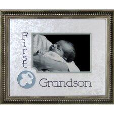 First Grandson Frame Photographic Print