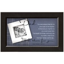 Dad - There for You Framed Wall Art