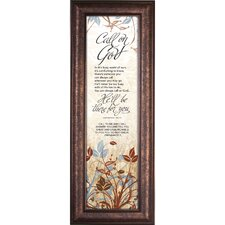 Call on God - There for You Framed Wall Art