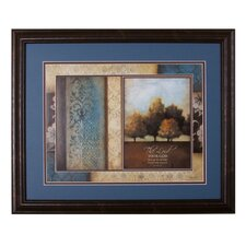 <strong>The James Lawrence Company</strong> The Lord Your God Framed and Double Matted Wall Art