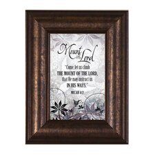 <strong>The James Lawrence Company</strong> Mount of the Lord Mini Framed Wall Art