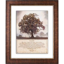 <strong>The James Lawrence Company</strong> Living Life Double Glass Matted Framed Art
