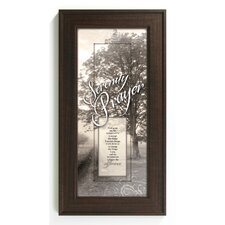<strong>The James Lawrence Company</strong> Serenity Prayer Framed Wall Art