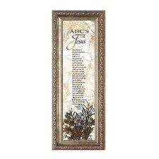 ABC's of Jesus Framed Graphic Art