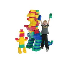 <strong>Kid's Adventure</strong> Jumbo Blocks 192 Piece Set