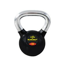 <strong>Unified Fitness Group</strong> Commercial Chrome Handle Kettle Bell