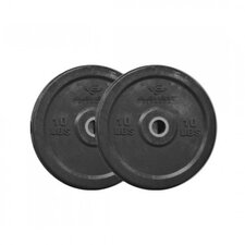 <strong>Unified Fitness Group</strong> Commercial Black Bumper Plates
