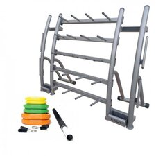 <strong>Unified Fitness Group</strong> 10 Piece Cardio Pump with Rack