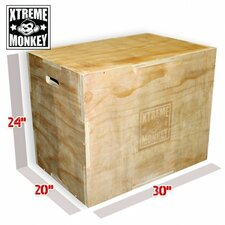 Flat Pack Wood Plyo Box
