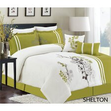 Shelton 8 Piece Comforter Set