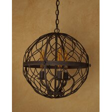 <strong>Laura Lee Designs</strong> Sphere Mini Chandelier