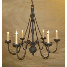 <strong>Laura Lee Designs</strong> Virginia 6 Light Chandelier