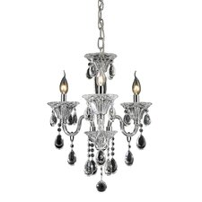 <strong>Nulco Lighting</strong> Formont 3 Light Chandelier