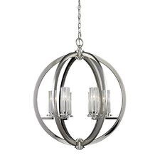 Lindisfarne 6 Light Foyer Pendant