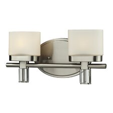 <strong>Nulco Lighting</strong> Tassoni 2 Light Bath Vanity Light