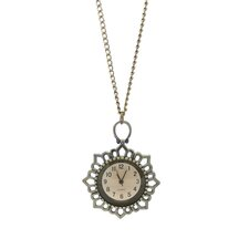 Sunshine Flower Necklace Watch