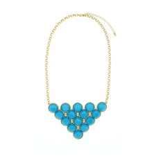 Bubble Bib Necklace